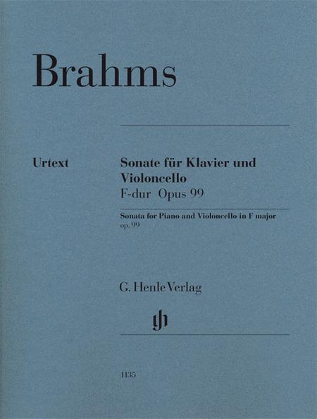 Sonata in F Major Op. 99 for Piano and Violoncello