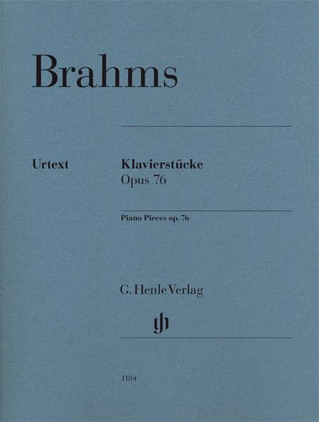Piano Pieces Op. 76 Nos. 1-8