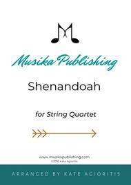 Shenandoah - for String Quartet
