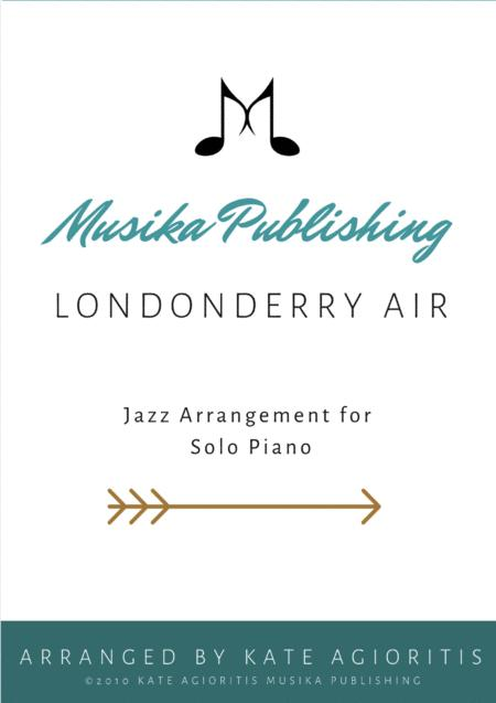 Download Londonderry Air (Danny Boy) - Jazz Arrangement For Solo ...
