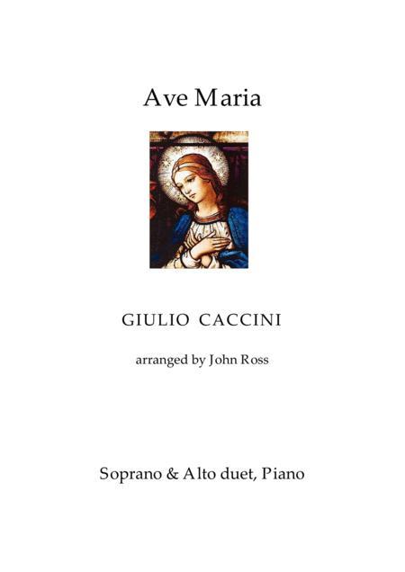 Ave Maria (Soprano + Alto duet, Piano)
