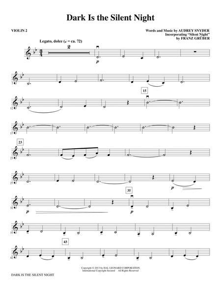 Dark Is the Silent Night - Violin 2