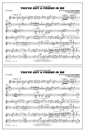 You've Got a Friend in Me - Bb Clarinet