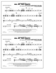 Download All Of The Lights Multiple Bass Drums Sheet Music