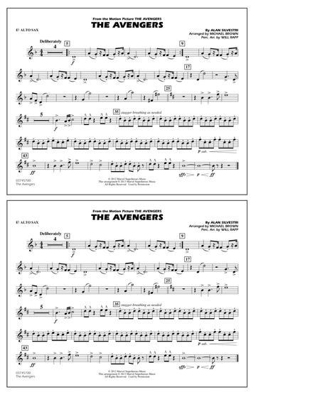 The Avengers - Eb Alto Sax