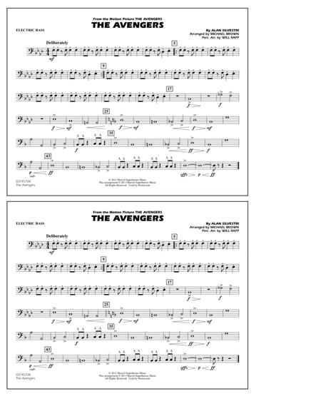 The Avengers - Electric Bass
