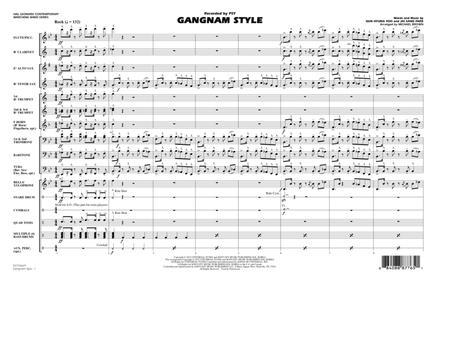 Gangnam Style - Full Score
