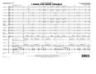 I Knew You Were Trouble - Conductor Score (Full Score)