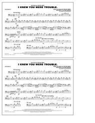 I Knew You Were Trouble - Trombone