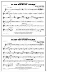 I Knew You Were Trouble - Baritone T.C.