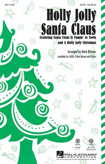 Holly Jolly Santa Claus - ShowTrax CD