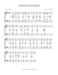 T Volk Dat Wandelt In Het Duister - Mixed Choir And Piano Or Organ