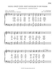Heer, Onze God, Hoe Heerlijk Is Uw Naam