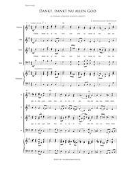 Dankt, Dankt Nu Allen God - Mixed Choir