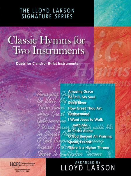 Classic Hymns For Two Instruments