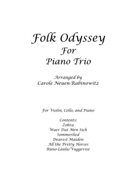 Folk Odyssey for Piano Trio