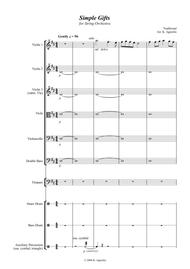 Simple Gifts - for String Orchestra