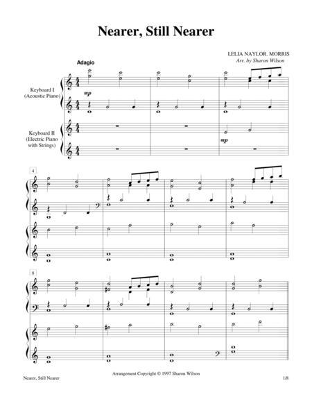 Nearer, Still Nearer  (Keyboard Duet - 2 Pianos, 4 Hands)