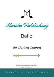 Ballo - for Clarinet Quartet