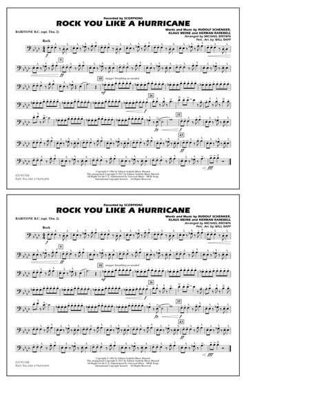 Rock You Like a Hurricane - Baritone B.C. (Opt. Tbn. 2)