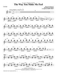 The Way You Make Me Feel - Guitar