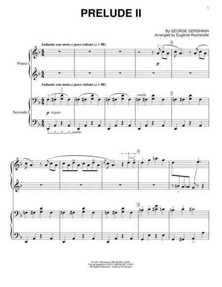 Prelude II (Andante Con Moto E Poco Rubato)