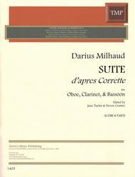 Suite apres Corrette