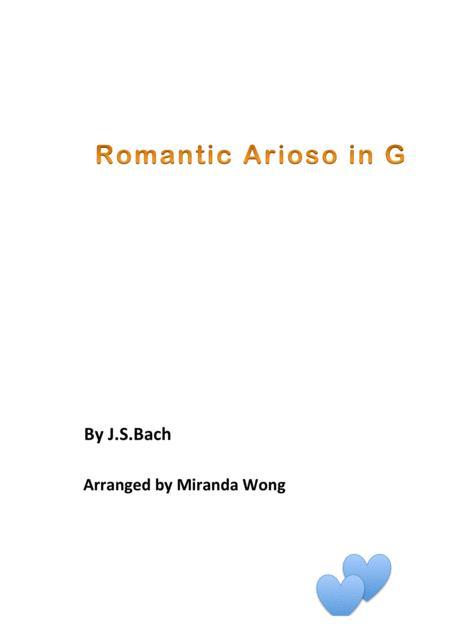 Romantic Arioso in G - Romantic Piano Music