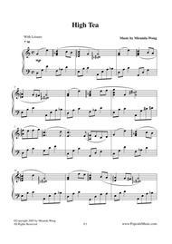High Tea - Popular Jazz Piano No.3