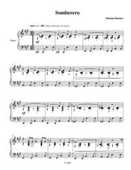 Somberero, a Latin jazz piano solo from Modern Solos