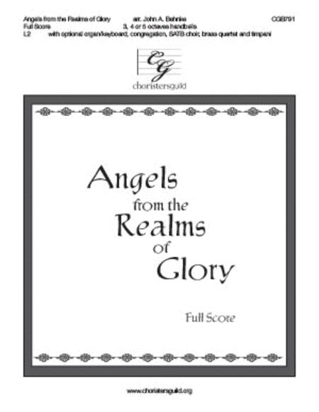 Angels from the Realms of Glory (Full score)