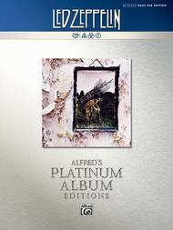 Led Zeppelin -- Untitled (IV) Platinum Bass Guitar