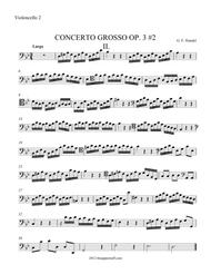 Concerto Grosso Op. 3 #2 Movement 2