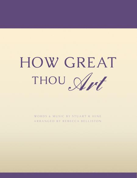 How Great Thou Art (Vocal Solo - Low)