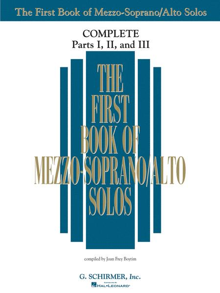The First Book of Solos Complete - Parts I, II and III
