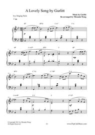 A Lovely Song (Op.172, No.1)  - Wedding Piano Music