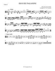 Duo de Paganini
