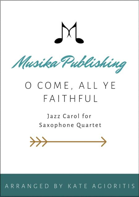 Download O Come All Ye Faithful Jazz Arrangement In 54 For