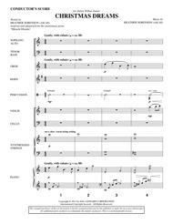 Christmas Dreams - Score