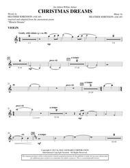 Christmas Dreams - Violin