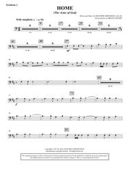 Home (The Arms of God) - Trombone 2