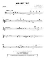 Gratitude - Oboe
