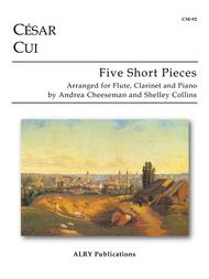Five Short Pieces for Flute, Clarinet and Piano