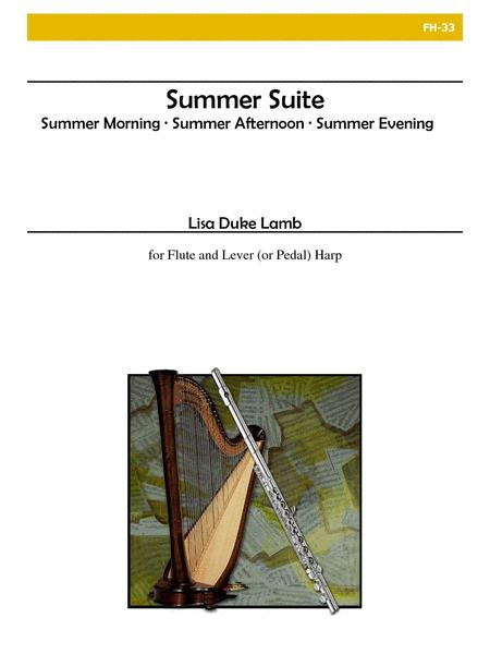 Summer Suite for Flute and Harp