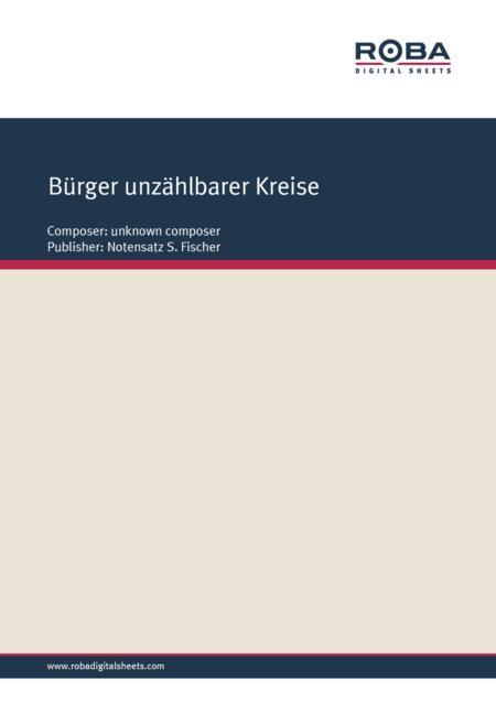 Burger unzahlbarer Kreise