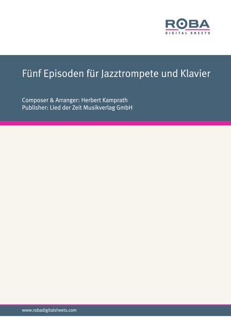 Funf Episoden fur Jazztrompete