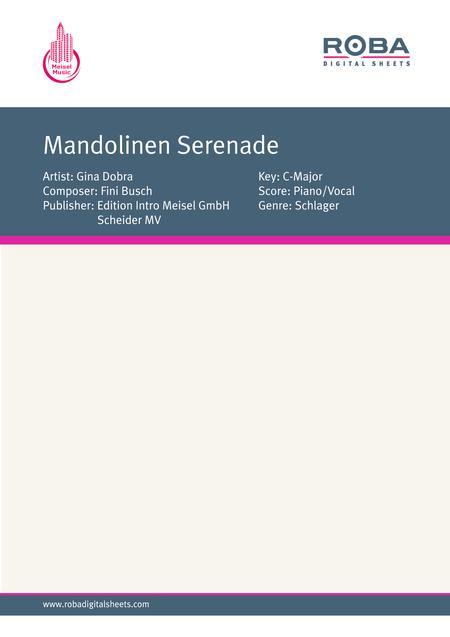 Mandolinen Serenade
