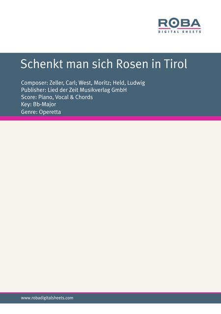 Schenkt man sich Rosen in Tirol