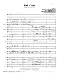 Rock of Ages (Forgiven and Free) - Full Score