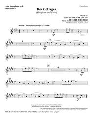 Rock of Ages (Forgiven and Free) - Alto Sax (sub. Horn)